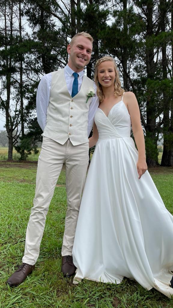 Becky wedding photo