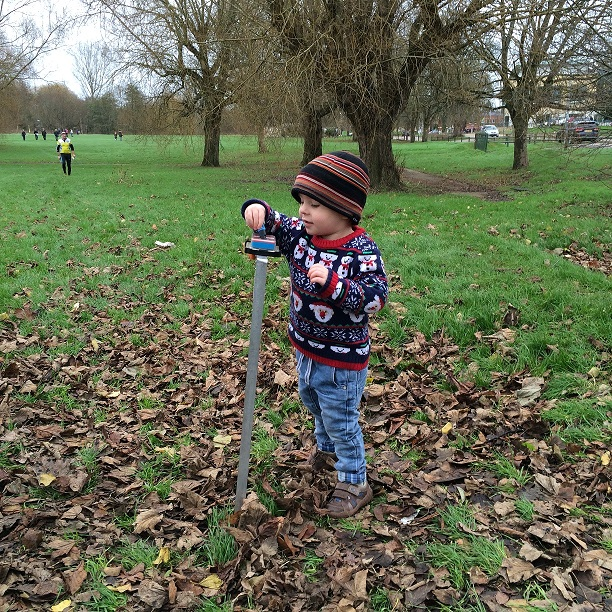Sebby - today's youngest competitor
